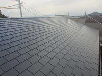12/27完成です。小郡市横隈・O様邸 外壁塗装・屋根塗装工事