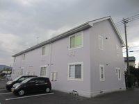 12/11完成です。筑紫野市・ファミールアパート様 外壁塗装・屋根塗装工事