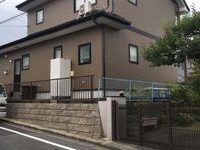 9/6完成です。太宰府市青山・H様邸 外壁塗装工事