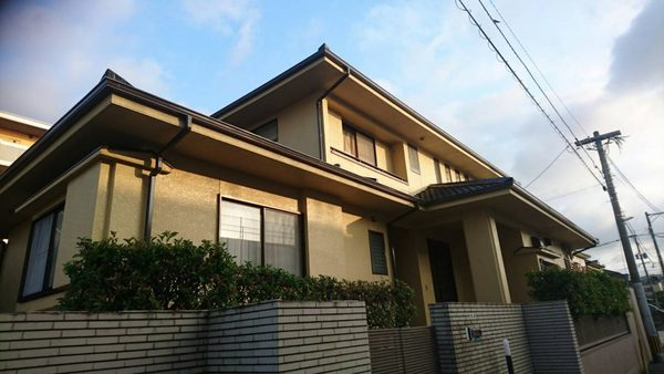 7/26完成です。糟屋郡志免町・B様邸 外壁塗装・屋根塗装工事