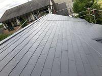 7/11完成です。八女郡広川町・M様邸 外壁塗装・屋根塗装工事