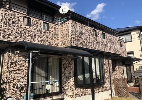 12/26完成です。筑紫野市吉木・K様邸 外壁塗装・屋根塗装工事