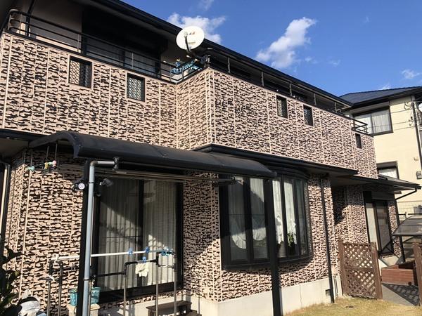 筑紫野市吉木・K様邸 外壁塗装・屋根塗装工事 12/3着工です。