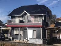 12/11完成です。朝倉郡筑前町・W様邸 外壁塗装・屋根塗装工事