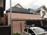 10/17完成です。福岡市東区馬出・F様邸 外壁塗装・屋根塗装工事