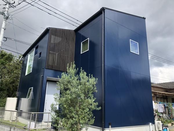 10/12完成です。朝倉郡筑前町・K様邸 外壁塗装工事