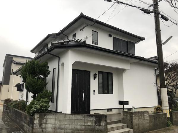 2/2完成です。筑紫野市下見・M様邸 外壁塗装工事