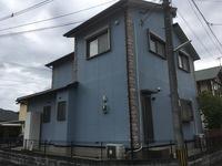 10/4完成です。久留米市合川町・T様邸 外壁塗装・屋根塗装工事
