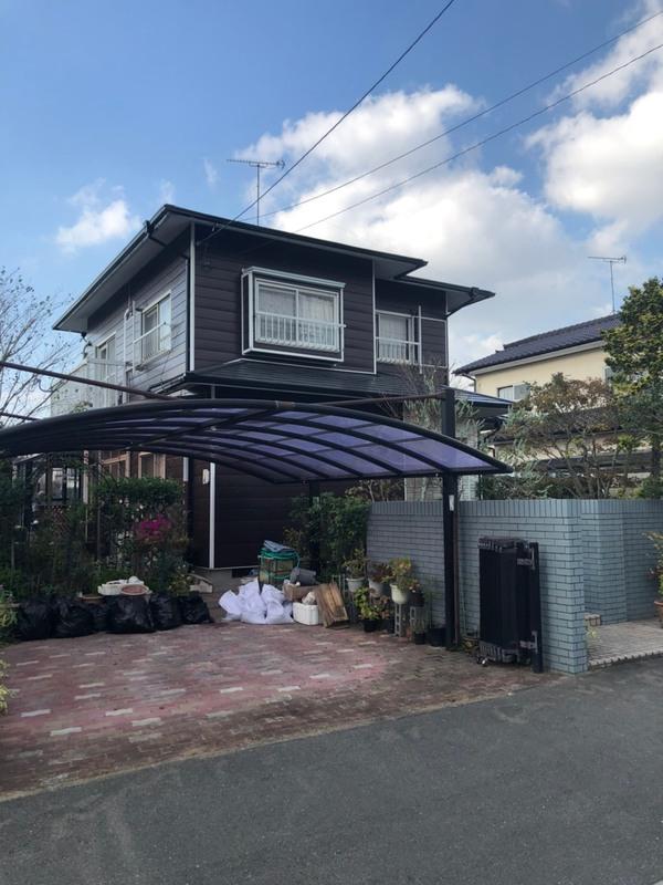 10/20完成です。筑紫野市むさしヶ丘・M様邸 外壁塗装・屋根塗装工事