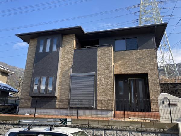 筑紫野市吉木・I様邸 外壁塗装・屋根塗装工事 1/6着工です。