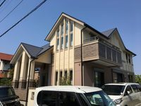 4/26完成です。福岡市西区室見が丘・A様邸 外壁塗装・屋根塗装工事