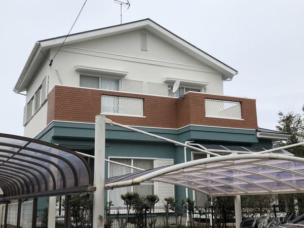 3/4完成です。糟屋郡須恵町・T様邸 外壁塗装・屋根塗装工事