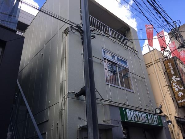 12/26完成です。福岡市中央区・Kビル様 外壁塗装・屋根塗装工事