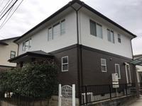 11/28完成です。太宰府市坂本・I様邸 外壁塗装・屋根塗装工事