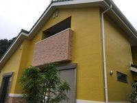 7/31完成です。太宰府市国分・M様邸 外壁塗装工事