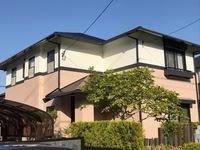 4/14完成です。筑紫野市美しが丘南・K様邸 外壁塗装・屋根塗装工事