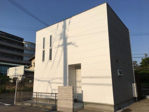 4/27完成です。筑紫野市武蔵・N様邸 外壁塗装工事