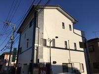 11/8完成です。太宰府市梅が丘・H整骨院様 外壁塗装工事
