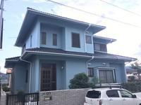 11/17完成です。太宰府市長浦台・K様邸 外壁塗装・屋根塗装工事