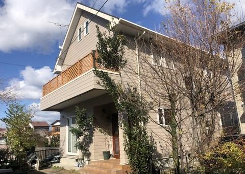 12/14完成です。福岡市南区若久・O様邸 外壁塗装・屋根塗装工事