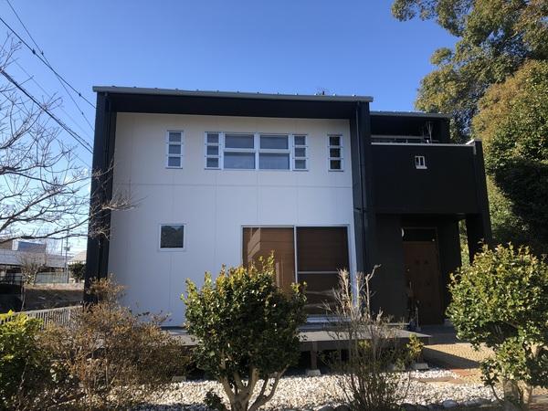筑紫野市原田・K様邸 外壁塗装・屋根塗装工事 1/11着工です。