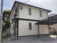 4/10完成です。筑紫野市岡田・U様邸 外壁塗装・屋根塗装工事