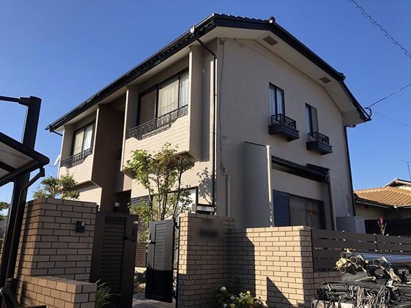 10/20完成です。太宰府市高雄・O様邸 外壁塗装・屋根塗装工事