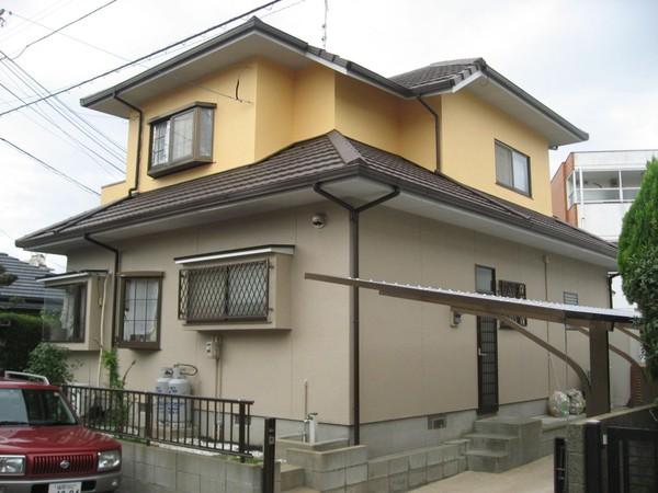 4/28完成です。福岡市東区・M様邸 外壁塗装・屋根塗装工事
