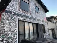 5月15日塗装工事完成です。福岡県太宰府市・M様邸。外壁デザイン塗装・アート壁画・防水処理・目地コーキング打ち替え