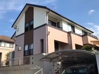 10/21完成です。福岡市東区青葉・Y様邸 外壁塗装・屋根塗装工事