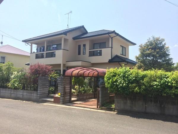 4月12日完成です。筑紫野市吉木・I様邸 外壁塗装・屋根塗装工事