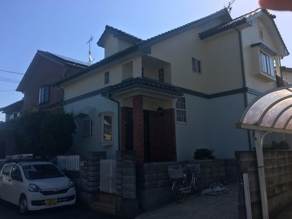 10/22完成です。糸島市浦志・H様邸 外壁塗装工事