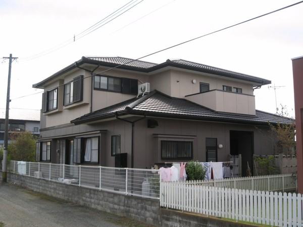 8/24完成です。久留米市北野町・I様邸 外壁塗装・屋根塗装工事