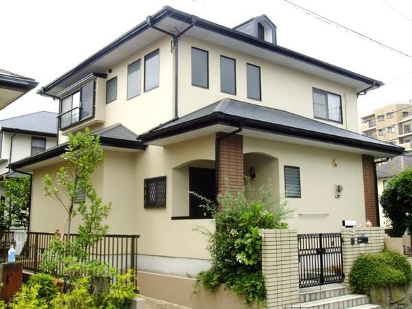 5/20完成です。筑紫野市筑紫駅前通・K様邸 外壁塗装・屋根塗装工事