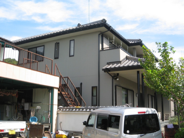 7/10完成です。久留米市藤山町・N様邸 外壁塗装工事