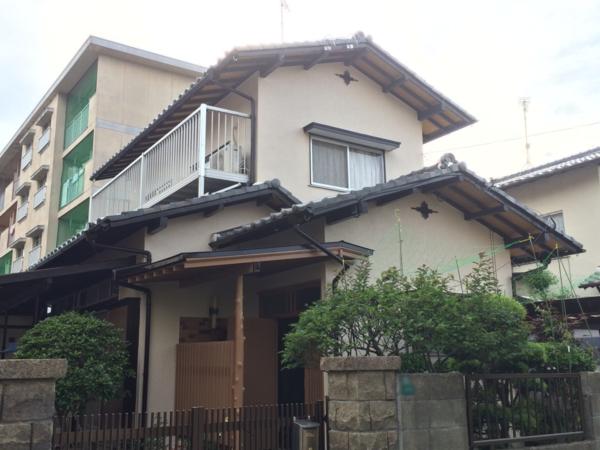 5月27日完成です。筑紫野市二日市北・M様邸 外壁塗装工事