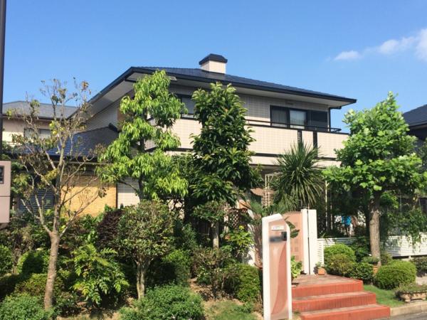 7月28日完成です。筑紫野市美しが丘南・I様邸 外壁塗装・屋根塗装工事