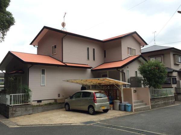 9月26日完成です。太宰府市宰府・I様邸 外壁塗装・屋根塗装工事