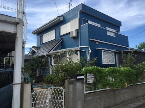 7月20日完成です。太宰府市青葉台・S様邸 外壁塗装工事