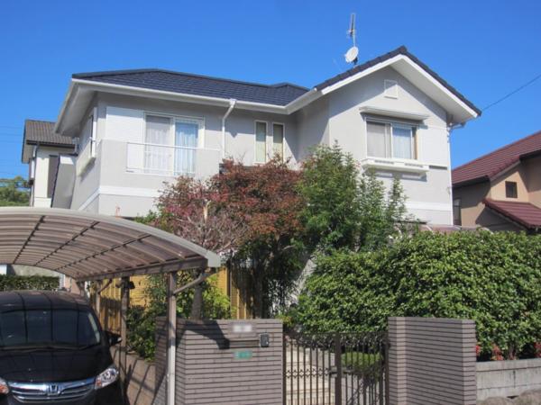 11/8完成です。太宰府市大佐野・M様邸 外壁塗装・屋根塗装工事