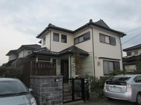 11/10完成です。筑紫野市天拝坂・K様邸 外壁塗装工事