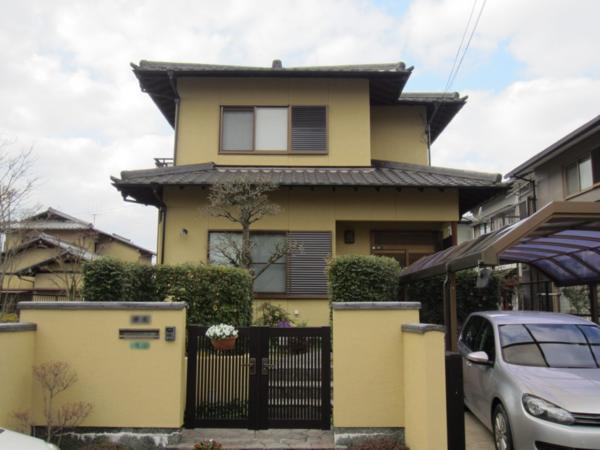 12/28完成です。太宰府市青山・Y様邸 外壁塗装工事