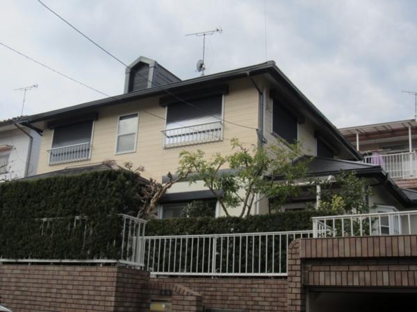 1/30完成です。太宰府市長浦台・T様邸 外壁塗装・屋根塗装工事