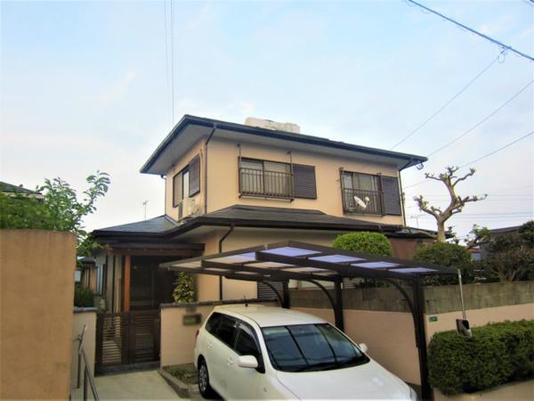 4/27完成です。太宰府市青山・M様邸 外壁塗装・屋根塗装工事