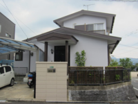 7/5完成です。太宰府市梅香苑・F様邸 外壁塗装・屋根塗装工事