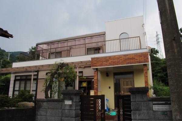 7/21完成です。太宰府市三条・K様邸 外壁塗装・防水塗装工事