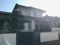 9/28完成です。福岡県太宰府市朱雀・N様邸 外壁塗装工事