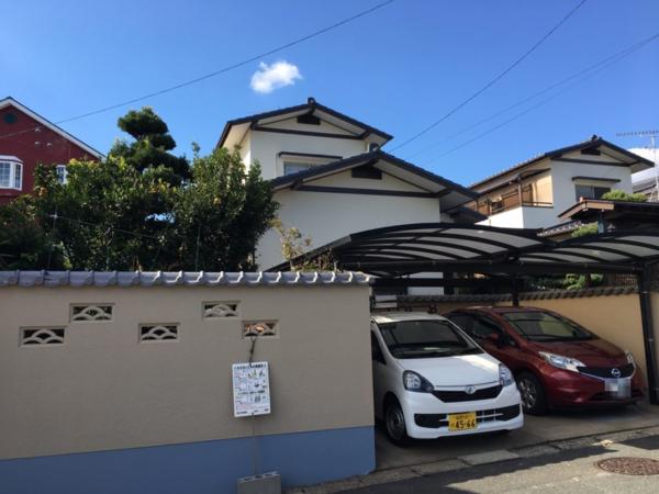 10/31完成です。太宰府市青山・Y様邸 外壁塗装・屋根塗装工事