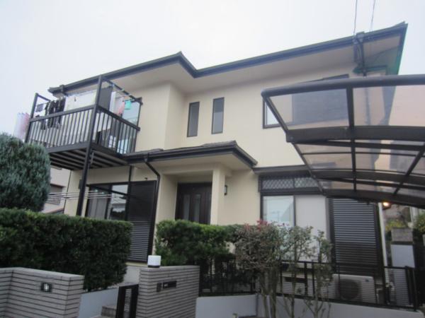 11/15完成です。筑紫野市原・K様邸 外壁塗装・屋根塗装工事