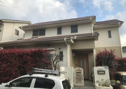 6/14完成です。筑紫野市二日市北・H様邸 外壁塗装・防水工事
